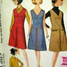 Misses' Size 14 Dress or Jumper and Blouse McCall's 7869