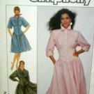 Misses Sz (10/12/14) USED Dress Pattern Simplicity 8488