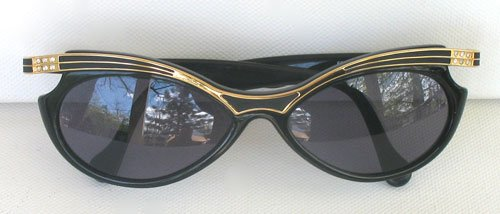 YSL 6508 Y505 New Vintage Deco Style Cat Eye Sunglasses