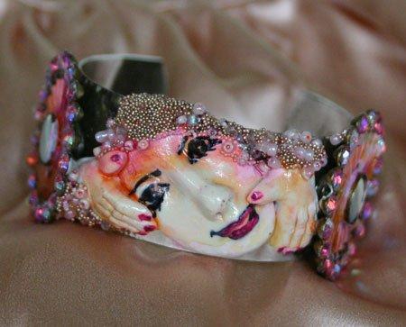 Signed One Of A Kind Bracelet By Award Winning Artist