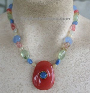 Michal Golan Necklace - Semi Precious