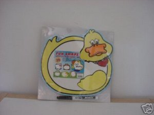 BRAND NEW FUN SHAPE YELLOW DUCK MESSAGE BOARD