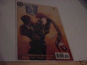 DC JUDGE DREDD LEGENDS OF THE LAW COMIC