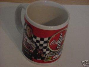 COCA COLA OFFICIAL SOFT DRINK OF NASCAR #18 MUG
