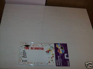 BRAND NEW YOUR''RE INVITED GRADUATION CARDS