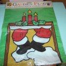 BRAND NEW CHRISTMAS CHIMNEY GARDEN FLAG
