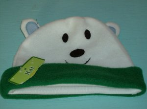 BRAND NEW CUTE BEAR HAT WITH FACE AND EARS