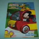 BRAND NEW DISNEY MICKEY MOUSE CLUBHOUSE BIG FUN BOOK TO COLOR