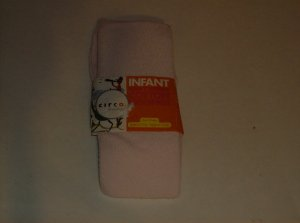 BRAND NEW LIGHT PINK INFANT HEAVY WEIGHT COTTON LEGGINGS SIZE 0-9 M