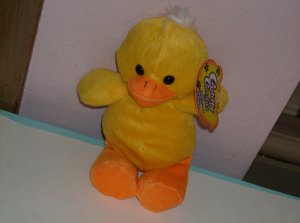 BRAND NEW BRIGHT YELLOW CHICK PLUSH ANIMAL