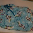BRAND NEW CUTE AQUA KITTY WOMEN'S MED.SLEEPWEAR PANTS