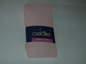 BRAND NEW CHEROKEE LIGHT PINK SHIMMER TIGHTS SIZE 12-14