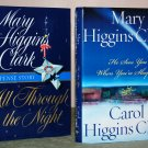Book Set - Mary Higgins Clark & Carol Higgins Clark  Christmas Books -( lot of 2)