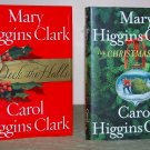 Book Set - Mary Higgins Clark & Carol Higgins Clark Christmas Books  (lot of 2)