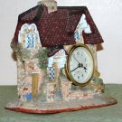 Clock - Country Cottage Clock