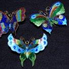 Set of 3 - Decorative Butterflies