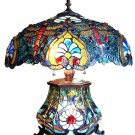 Handcrafted Asian Dream Dragonfly Tiffany Style Table Lamp