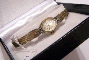Ladies Hamilton Ladies Dress Watch W/ 4 Real Diamonds