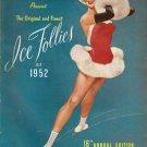 SHIPSTADS & JOHNSON ICE FOLLIES OF 1952 PROGRAM