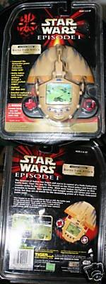 Star Wars Battle Tank Attack Game - Episode 1 Handheld