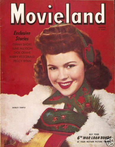 Screenland Magazine January 1945 Shirley Temple Good
