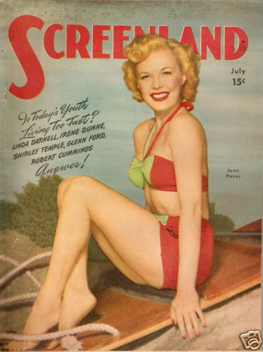 Screenland Magazine July 1947 June Haver