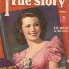 True Story Magazine April 1938 Jean Rogers Lucky Strike