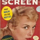 Janet Leigh Screen Magazine June 1956 Brando