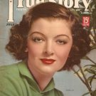 True Story Magazine July 1938 Mynera Loy Good Condition