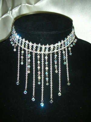 Handmade Crystal Beads for Wedding Necklace(Brilliance Chanderelle)