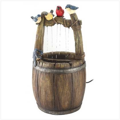 #12033 Cottage Wishing Well Fountain