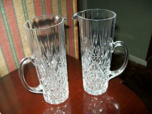 American Cut Glass Pitchers