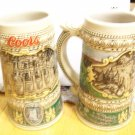Coors Beer 1990 Holiday Stein-1935 Print Advertisement
