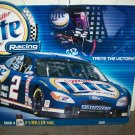 Nascar Miller Lite Racing Rusty Wallace #2 Sign