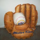 Miller Lite  Baseball Glove Blowup