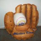 Miller Lite  Baseball Glove Blowup