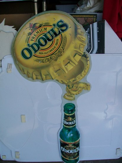 Anheiser Busch O'Doul's Advertising Metal Sign