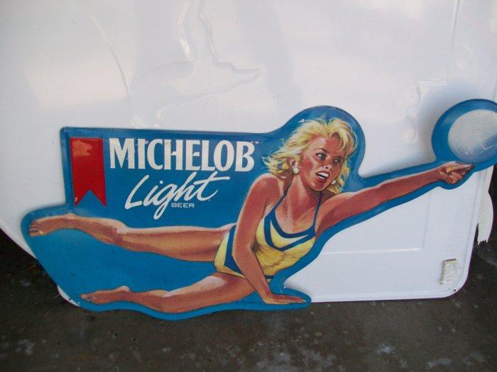 Anheuser-Busch Michelob Light Advertising Sign