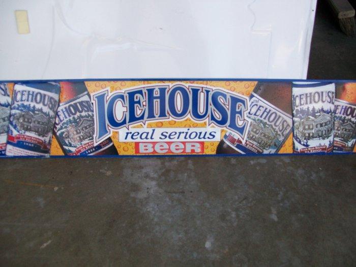 Miller Icehouse Advertising Metal Sign
