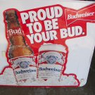 Anheuser-Busch  Budweiser Advertising Metal Sign