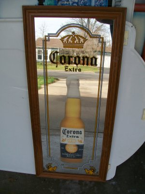 Corona Advertising Mirror