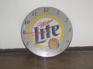 Miller Lite Advertising Clock