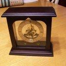 Skeleton Metal Mantle/Table Clock