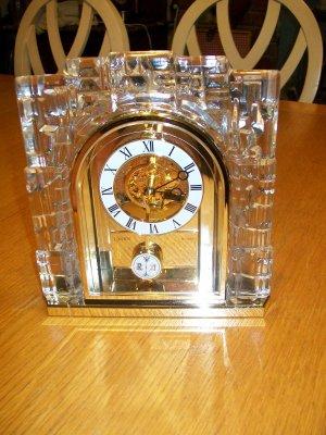 Linden Quartz Skeleton Clock