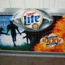Miller Lite Super Bowl XXXV Metal Sign