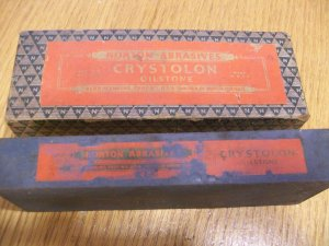 Antique Norton Crystolon Oilstone