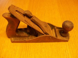 Vintage Antique Shelton #9 Wood Plane