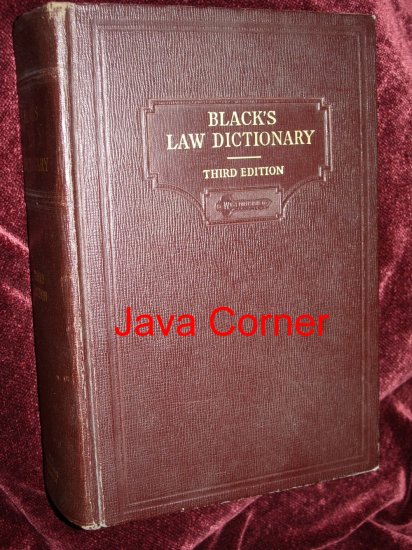 Black's Law Dictionary. It's a TRAP! - YouTube