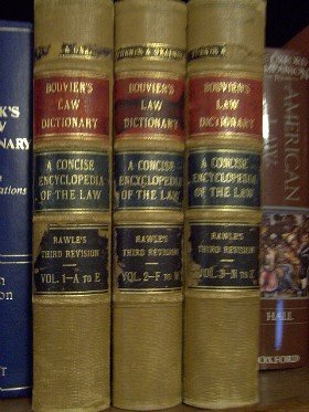 Bouvier's Law Dictionary