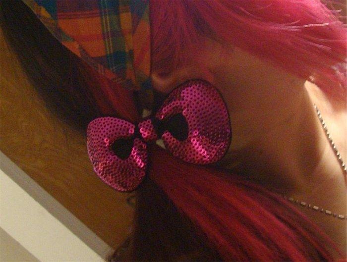 Hello Kitty Hair Bow lolita harajuku Free shipping to US